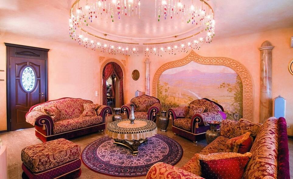 Арабский стиль в интерьере фото