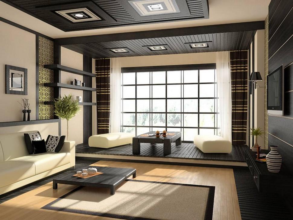 Interior design asian theme